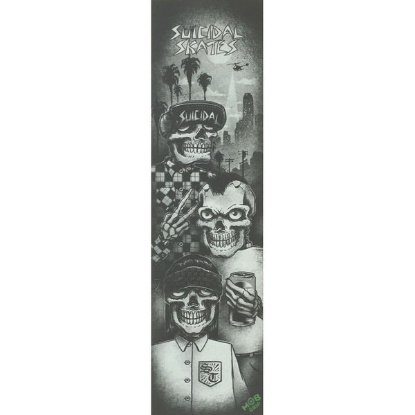 SOLD OUT - Suicidal Mob Griptape Sheet Tres Vatos