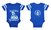 Infant Football Bodysuit Onesie - Glow In The Dark