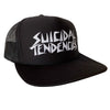 Suicidal Tendencies OG Flip Up Trucker Hat Possessed Brim