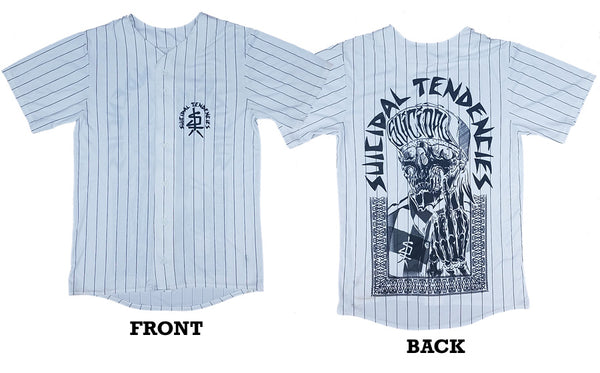 SOLD OUT - JER1FWHT Baseball Jersey One Finger