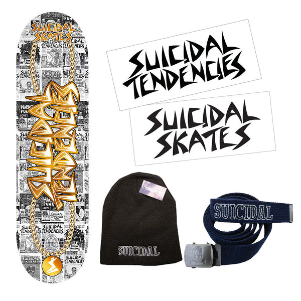 SOLD OUT - Suicidal Skates - Mr. ST Starter Combo Pack (Shipping Charges Included)