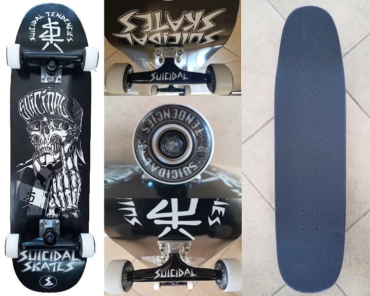 8809bc5bf34 Suicidal Skates - OneFinger 1F Complete Skateboard + OG Flip Up Hat and  Poster (Shipping Charges Included)