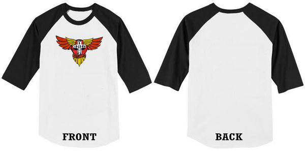 DT 3/4 Raglan Jersey Wings + Stickers