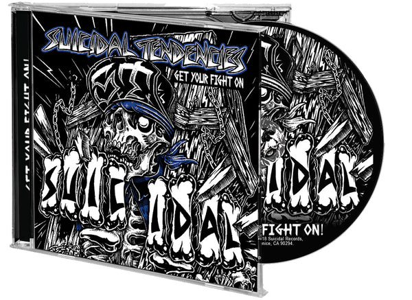 PRE ORDER - Get Your Fight On! CD + Sticker