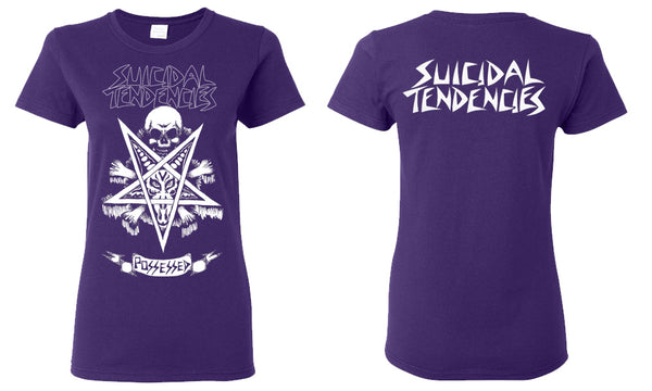 Suicidal Tendencies Possessed Girl T-Shirt