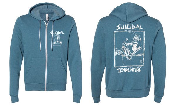 Suicidal Tendencies Girls Skater Zip Up Sweatshirt
