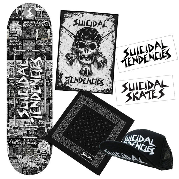 Suicidal Skates - CYCO ST Hardcore Combo Pack (Shipping Charges Included)