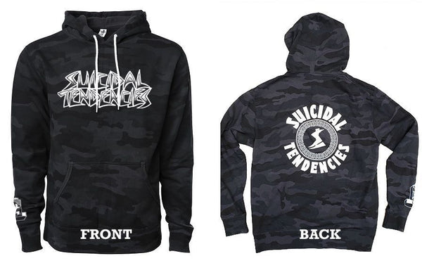 Suicidal Tendencies Balck Camo Sweatshirt