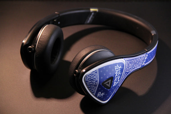 SOLD OUT - MonSTer DNA SxTx Collab Blue Headphones - SOLD OUT