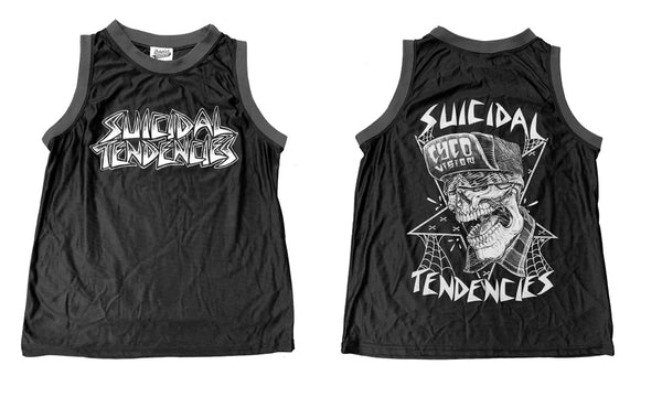 Suicidal Tendencies CycoVision Basketball Jersey