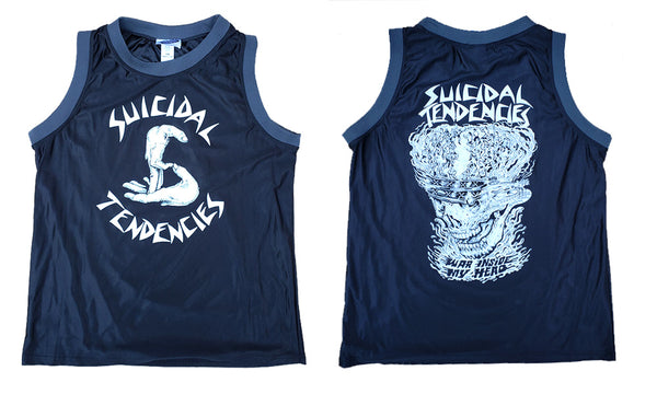 Suicidal Tendencies Basketball Jersey War Inside My Head