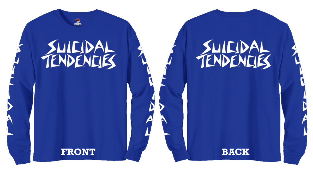 Suicidal Tendencies Store Triplem St Tshirt Monday To Long Navy Xxl Lls Colors
