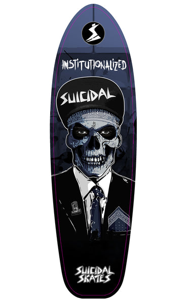 ST INSTITUTIONALIZED SUIT SURF N CRUISE DECK MAGNET