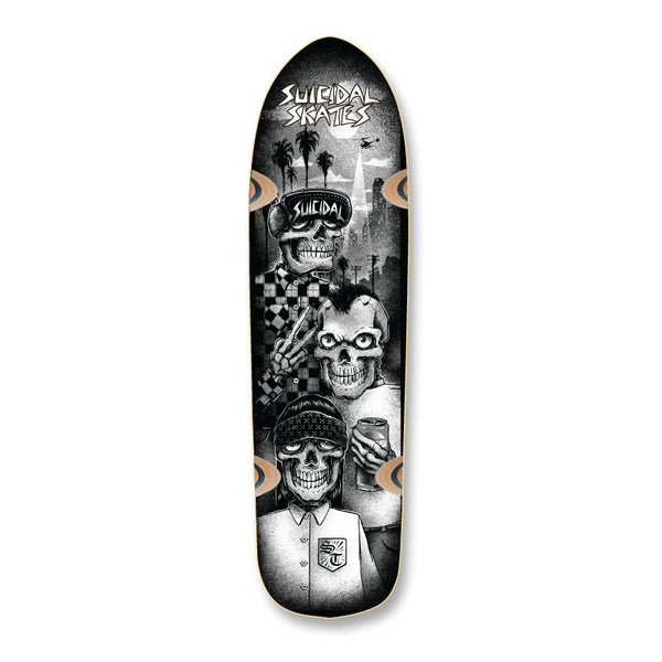 SOLD OUT - Suicidal Skates - Tres Vatos Pool Deck (Shipping Charges Included)