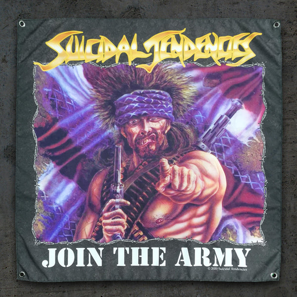 Suicidal Tendencies Join The Army Wall Banner