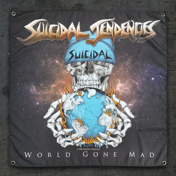 Suicidal Tendencies World Gone Mad Wall Banner