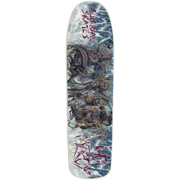 Suicidal Skates - No Mercy Skate Deck (Shipping Charges Included)