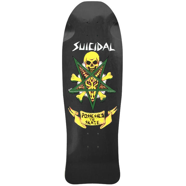 SOLD OUT - Suicidal Skates - Possessed To Skate Deck (Shipping Charges Included)