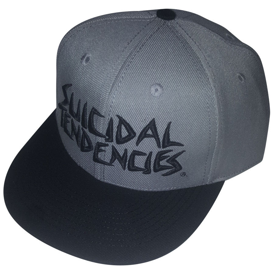 ST Full Embroidered Custom Snapback Baseball Hats – Suicidal ... 21a33fa546cb