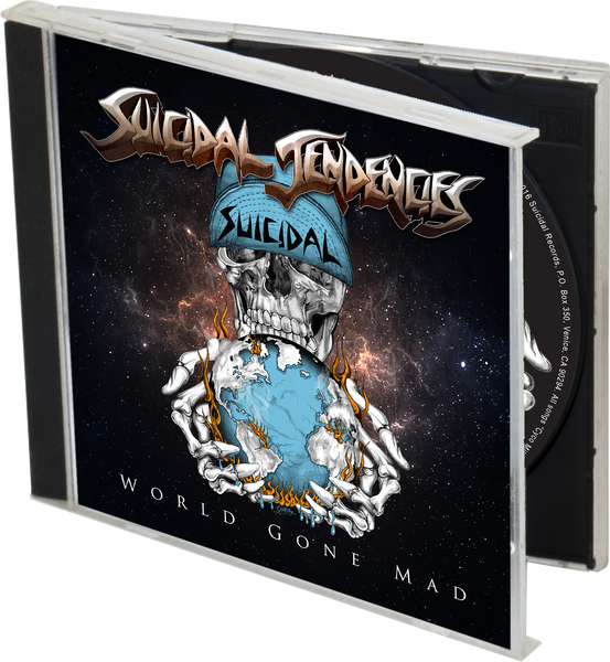 Suicidal Tendencies - World Gone Mad  + 3 WGM Stickers