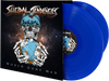 World Gone Mad - LIMITED EDITION DOUBLE BLUE LP +3 WGM Stickers (Shipping Cahrges Included)