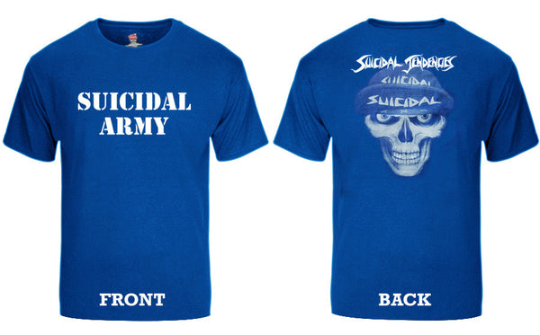 SOLD OUT - TS Suicidal Army T-Shirt