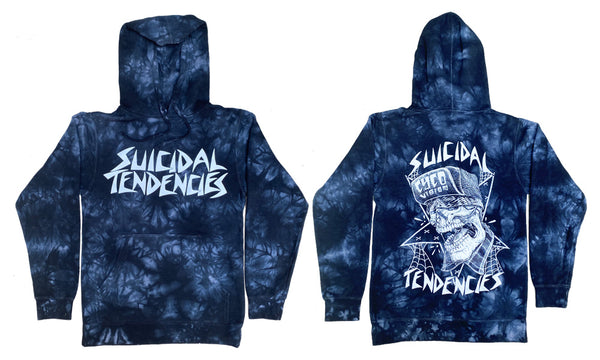 ST TD CycoVision Tie Dye Midweight Pullover Hoodie