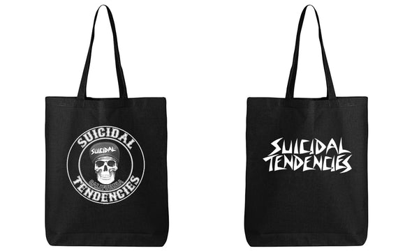 Suicidal Tendencies Tote Bag California