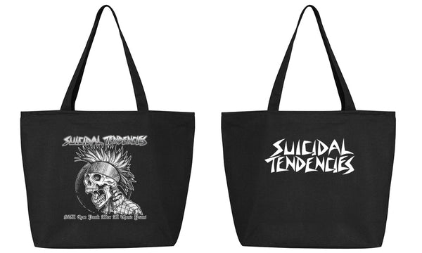 Suicidal Tendencies Tote Bag with ZIP Punk