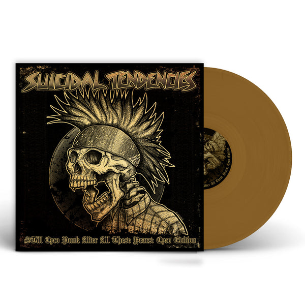 SOLD OUT - 'STill Cyco Punk After All These Years' LP - LIMITED GOLD DELUXE CYCO PACK EDITION (Shipping Charges Included)