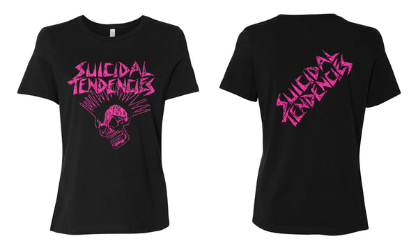 Suicidal Tendencies Mohawk Girl T-Shirt