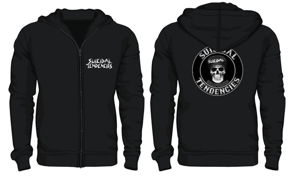 ST California Mid Weight Zip Up Hoodie