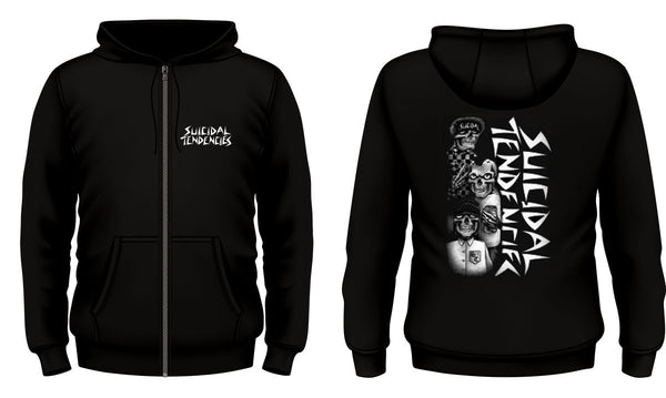 ST Tres Vatos Zip Hoodie - Up To 5XL