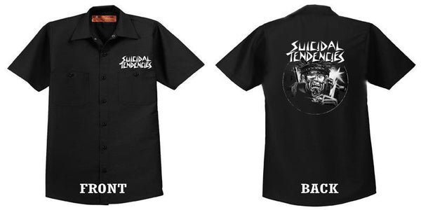Suicidal Maniac Dickies work shirt