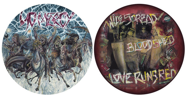 No Mercy - Widespread Bloodshed, Love Runs Red - Collectors Edition Picture Disc