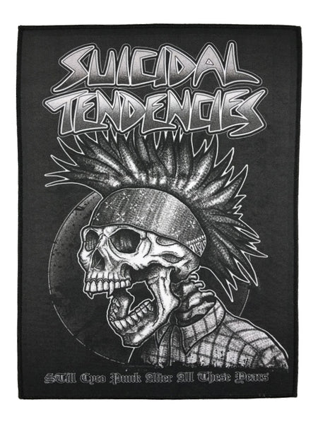 SUICIDAL TENDENCIES STILL CYCO PUNK BACK PATCH