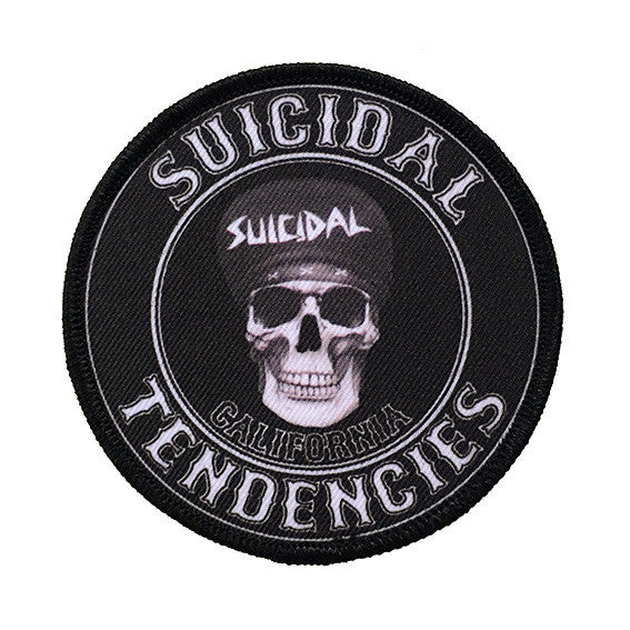 SUICIDAL TENDENCIES CALIFORNIA PATCH