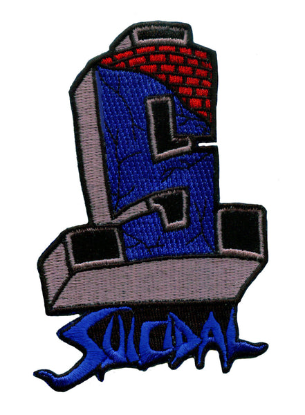 SUICIDAL TENDENCIES FLS LOGO PATCH