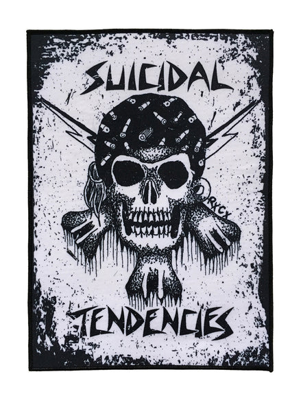 SOLD OUT - SUICIDAL TENDENCIES RxCx SKULL BACK PATCH