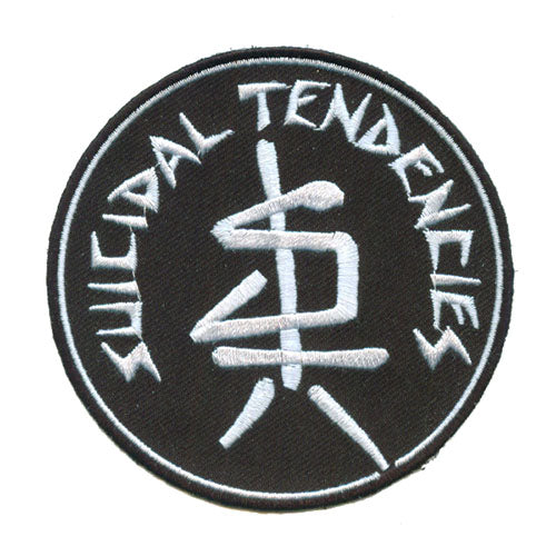 SUICIDAL TENDENCIES 1F ST LOGO PATCH
