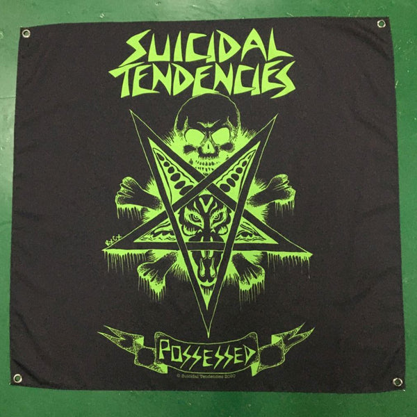 Suicidal Tendencies Possessed Banner