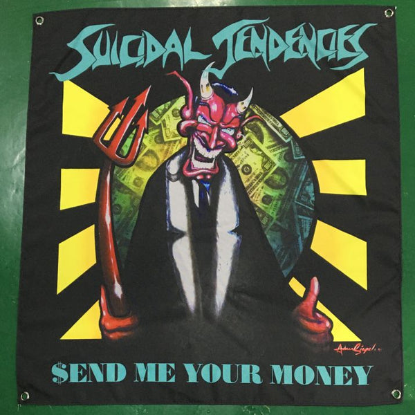 Wall Banner - Send Me Your Money Classic Artwork