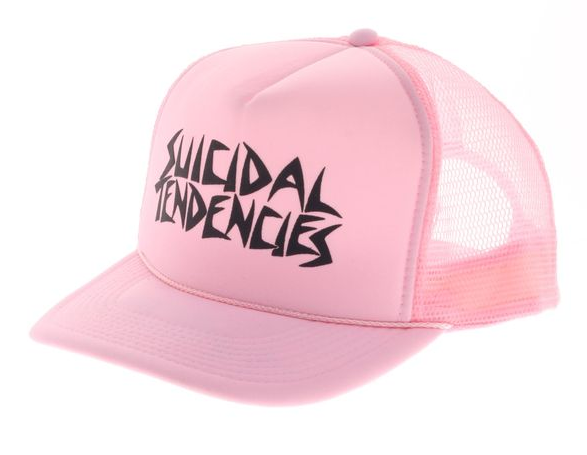 SOLD OUT - Pink Flip Hat + Sticker