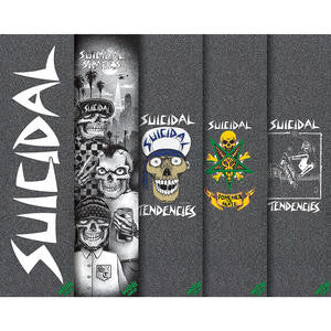 SOLD OUT - Suicidal Mob Griptape Combo + Sticker