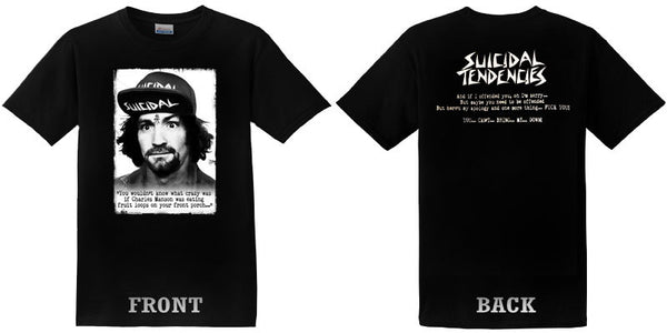 band tees - Suicidal Tendencies Charlie t-shirt