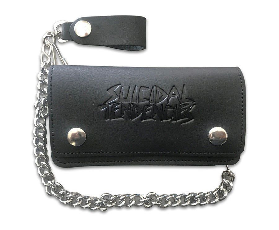 12c467ee4c71 ST Leather Chain Wallet + Sticker – Suicidal Tendencies Merchandise STore