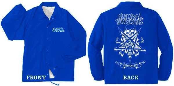 Windbreaker Possessed Limited Edition Shine Royal Blue