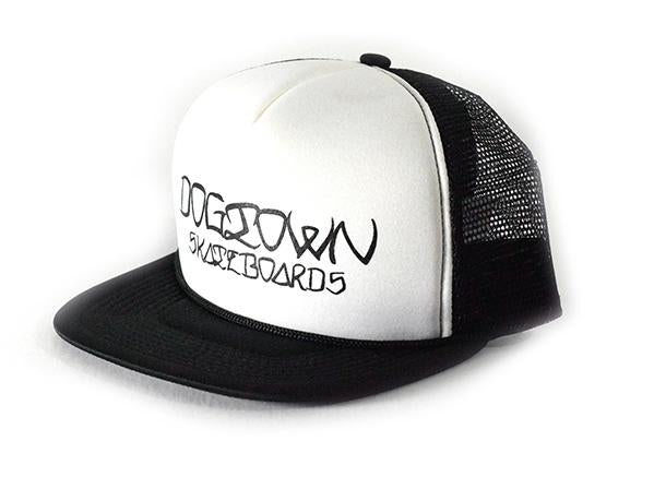 DogTown Ese Scrip Trucker Hat + Sticker