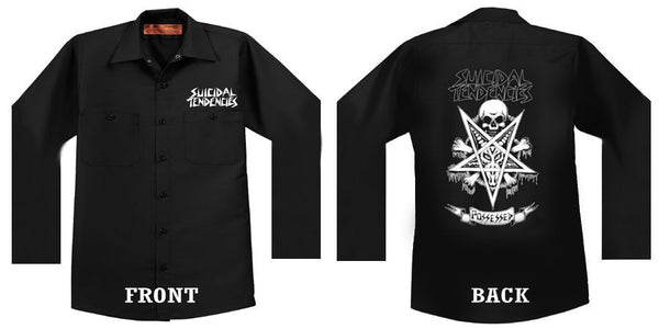 Possessed Longsleeve Dickies work shirt