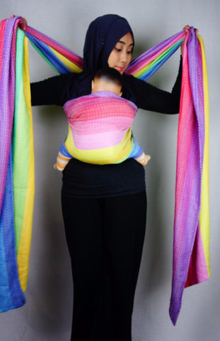 CareRing Sling Rainbow Love